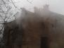 Pożar budynku - Dziecinów - 11.11.13r